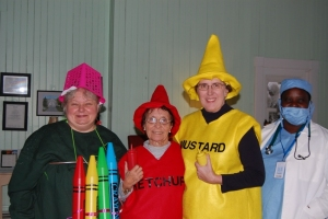 2011 Halloween Party with the residents of St. Joseph's Adult Home