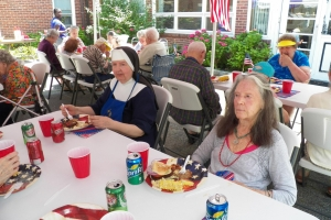 4th of July Picnic with the Residents of St. Joseph's Adult Care Home