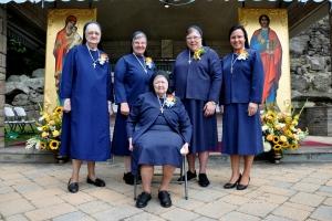 Celebrating our Jubilarians: Sr. Evelyn, Sr.  Anne, Sr. Zenovia, Sr. Michele and Sr. Eliane