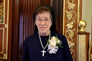 Celebrating Sr. Albina Gregory's 75th Anniversary of Service, Love, Dedication, and Sacrifice to God