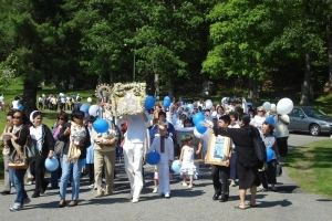 Filipino Pilgrimage - Visitation of Mary. May 31st.