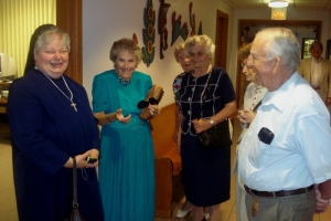 Historical Visit of the Sisters Servants of Mary Immaculate at BVM, Palos Park, IL