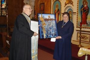 May 3, 2009 Sisters Servants returned to Sts. Peter & Paul Parish, Ansonia, Conn.