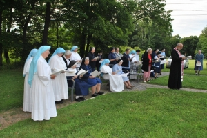 Sisters Servants Retreat and celebration of 25th Years of Priesthood of Bishop Ken Nowakowski.