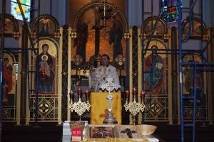 Sisters Servants visiting the Parish St. Nicholas Ukrainian Catholic Church on February 7th, 2010