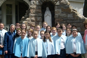 Sodality, Altar Servers, and First Communion