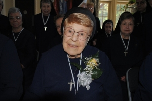 Sr. Sozonta Iskiw celebrates her 85th jubilee in the Community