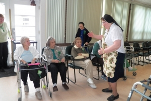 St. Patrick's Day Party with the residents of St. Joseph's Adult Care HomeHome