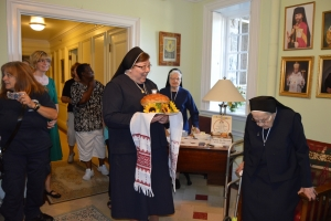 Timothy Cardinal Dolan's visit to the Sisters Servants of Mary Immaculate