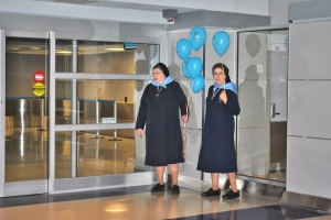 Welcoming the Icon of our Foundress Blessed Josaphata at JFK
