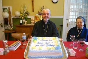 Celebrating Bishop Basil's 85th birthday