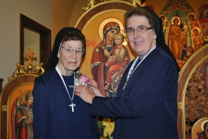 Celebrating Sr. Bonaventure's 80th - Sr. Albina's 70th and Sr. Tekla's 25th years of Consecration to