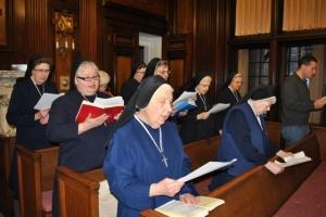 Celebrating Sr. Kathleen Hutsko - Provincial Superior's Feast Day.