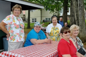 Family Picnic at St. Joseph's Adult Care Home.