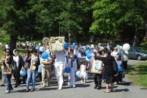 Filipino Pilgrimage - Visitation of Mary. May 31st.