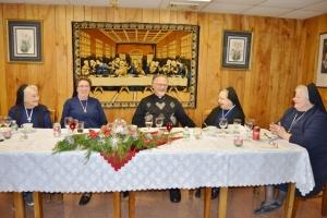 Metropolitan Stefan Soroka's Feast Day Celebration in Sloatsburg with the SSMIs