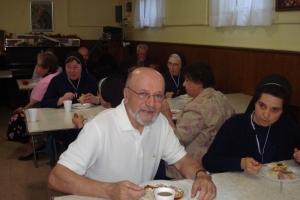 Sisters visiting St. John the Baptist Parish in Riverhead, NY