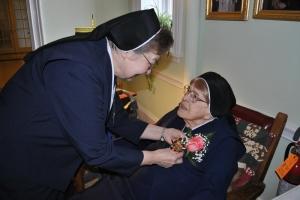 Sr. Sozanta celebrated her 100th birthday!!!
