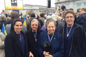 SSMI's attend blessing of Holodomor monument in Washington, DC