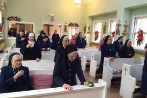 SSMI's renew vows on Feast of the Immaculate Conception