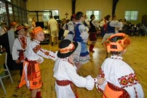 Ukrainian Dancers perform at St. Joseph's Home