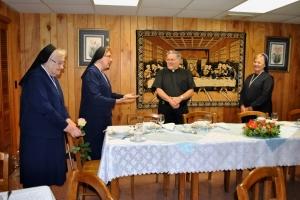 Welcoming our Superior General Sister Teresa Ann Slota, SSMI